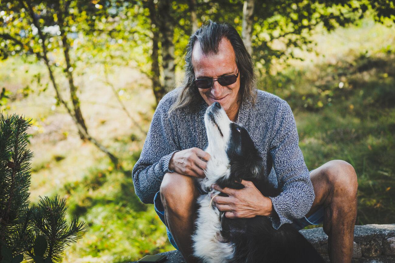 CHRS accueil inconditionnel - maître et son chien