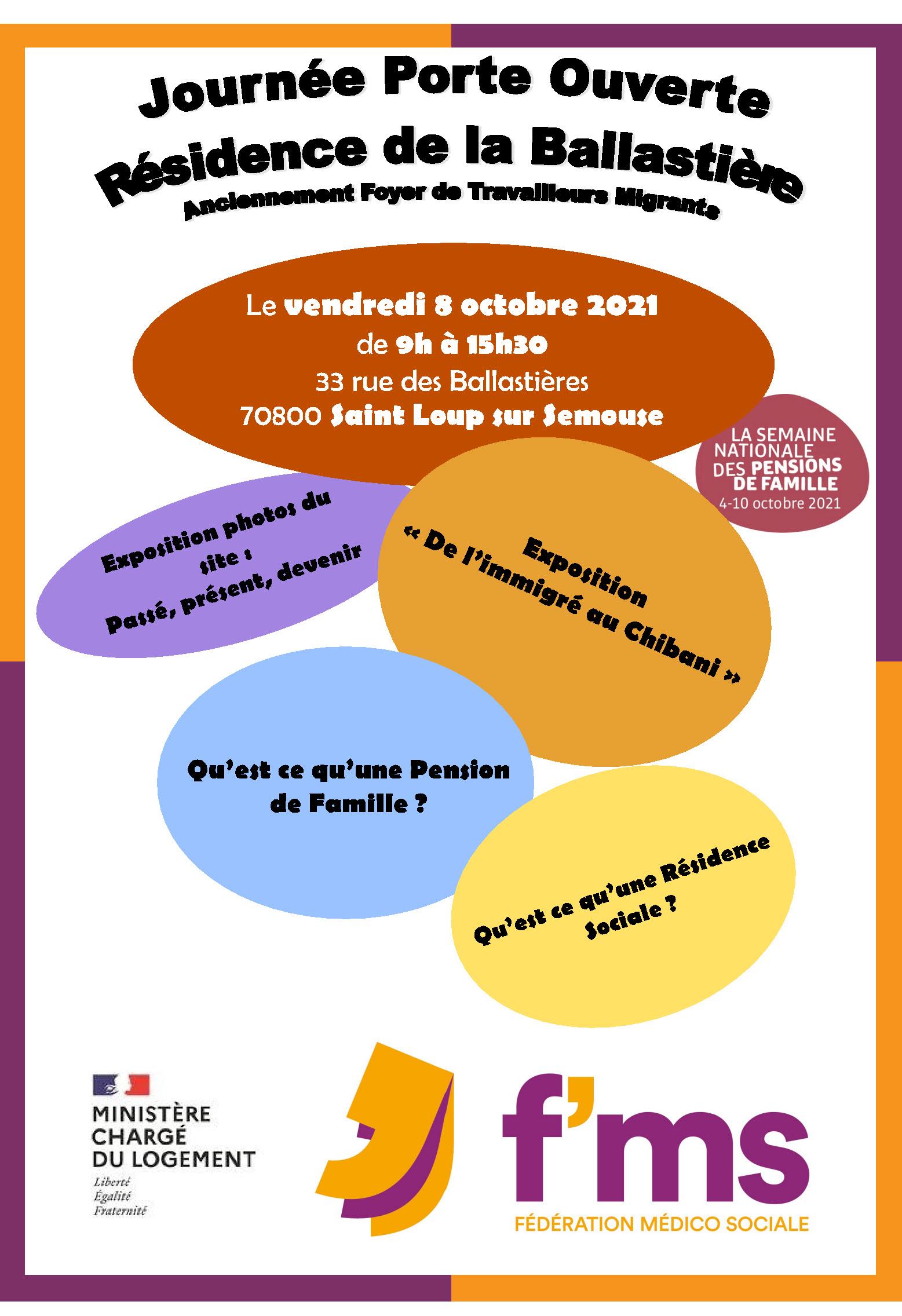 Journee portes ouvertes 8 octobre Saint Loup sur Semouse